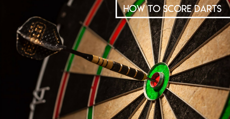 how to score darts