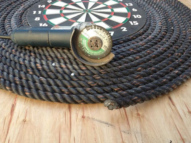 rope dart backboard