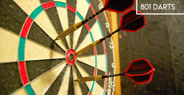 how to play 801 darts