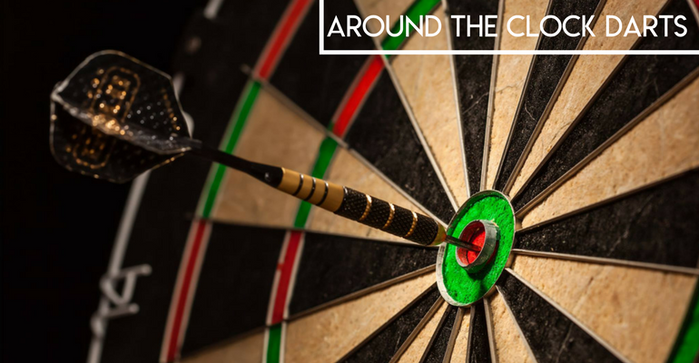 how to play around the clock darts