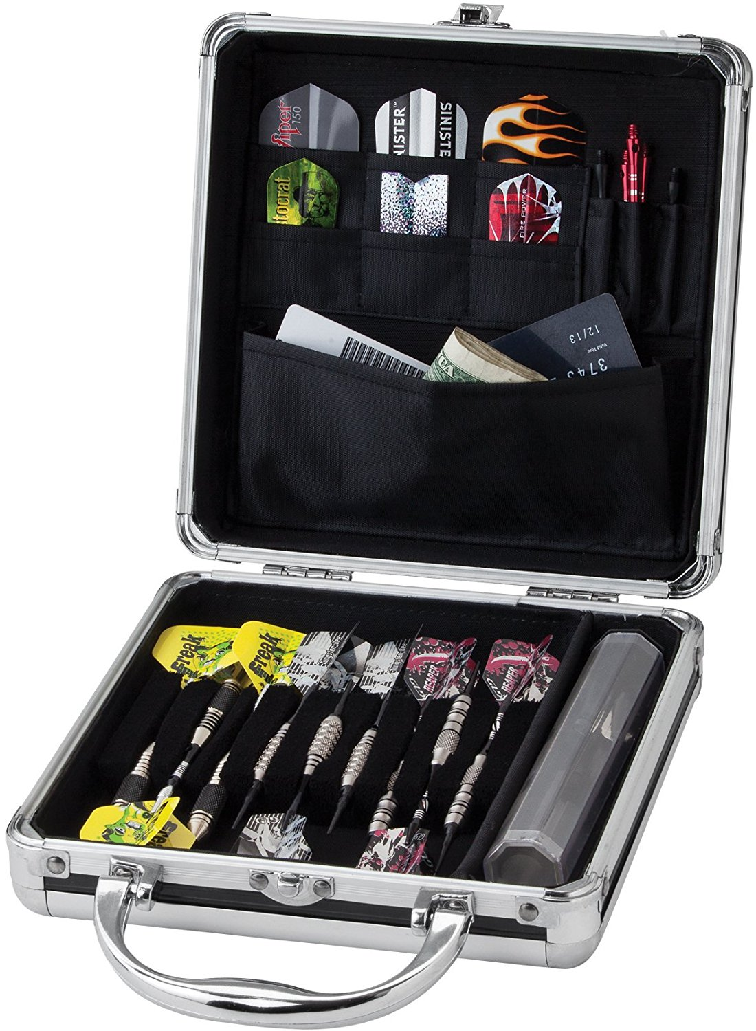Casemaster Ternion 9 Dart Aluminum Storage:Travel Case