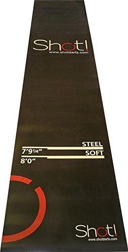 Dart Mat by Shot Darts - Heavy-Duty 3mm Industrial Dart Mat