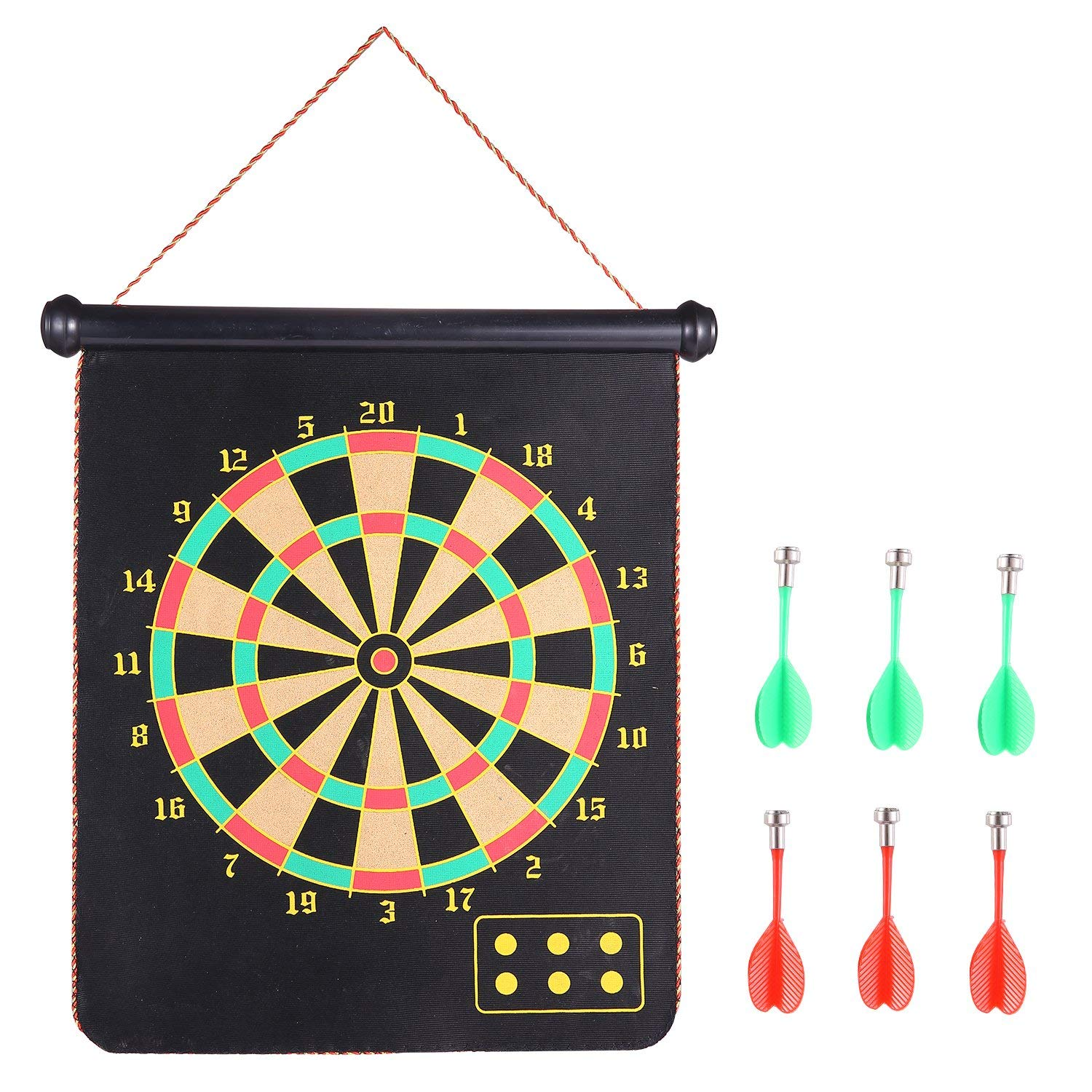 RaboSky Magnetic Dart Board Set