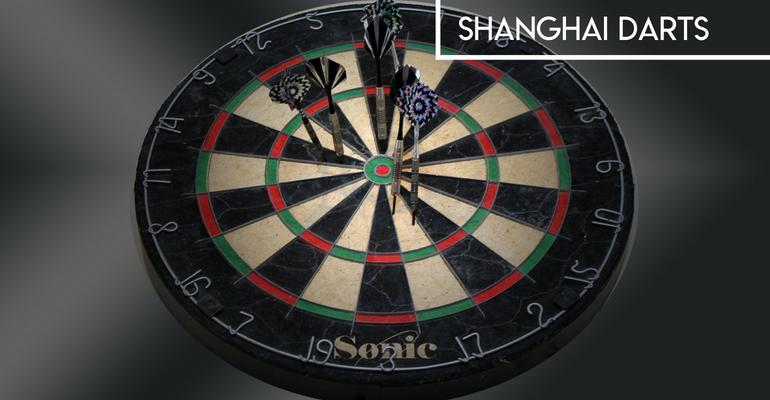 how to play shanghai darts