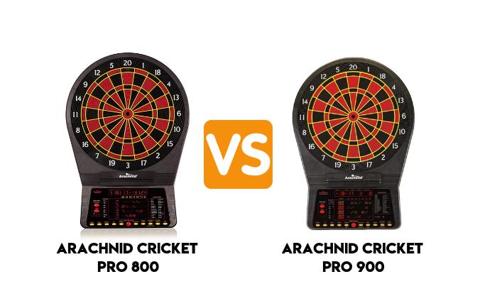 Arachnid Cricket Pro 800 vs 900