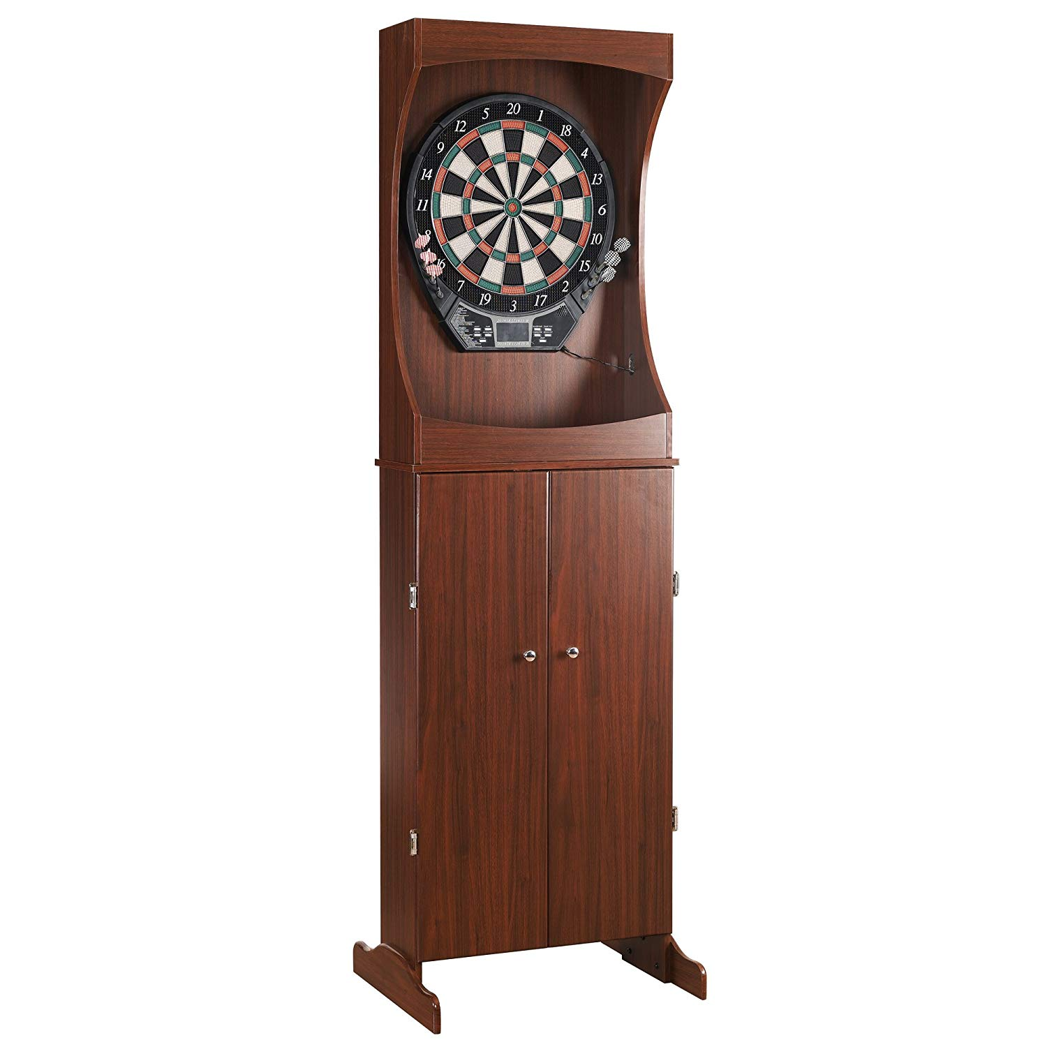Outlaw Freestanding Dartboard and Cabinet Set