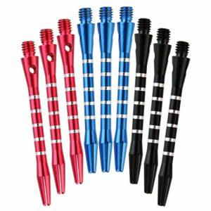 Outop Dxhycc 3 Sets/9pcs Aluminum Darts Shafts