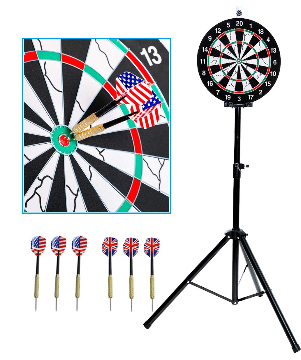 SPRAWL Portable Dart Board Stand-One