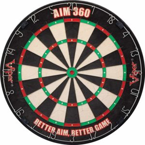 Viper AIM 360 Tournament Bristle Steel Tip Dartboard Set