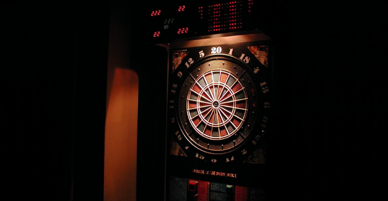 best electronic bristle dartboard