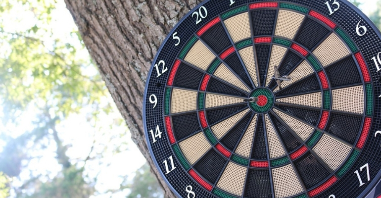 best outdoor dartboard