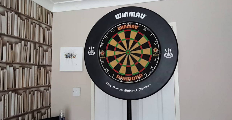 best standing dartboards